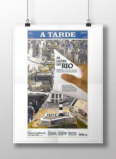 Capa Rio. Diagramação. Publicada em 26/11/2010