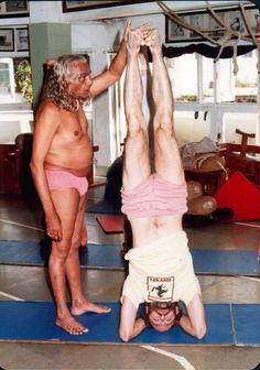 Yoga with BKS Iyengar. 1984. Headstand.