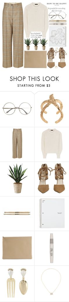 """""""@myself: why do you wanna fall in love so bad???"""" by alienbabs ❤ liked on Polyvore featuring Maison Margiela, The Row, Arts & Science and Topshop"""