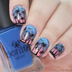 Love the ideas for the Festival Stamping Plate collection from BM. ❤️❤️❤️ Magically Polished |Nail Art Blog|: Bundle Monster: Festival Collection Stamping Plates Nail Art + Nail Art