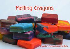 Melting Crayons at CCK