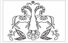 Урок информатики в 4-м классе по теме Городецкая роспись :: Статьи Фестиваля «Открытый урок»