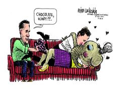 Even on Valentine's Day, Mitt Romney can't get no satisfaction. bit.ly/wDOPkG