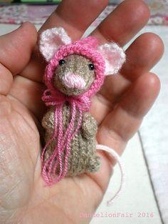 Ravelry: DandelionFair's Sweet Little Mouse