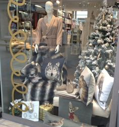 It is already #Christmas in our London stores. Check our #windows ... Chelsea