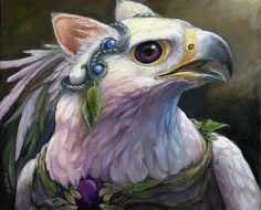 Sylba  Fantasy Gryphon Print par windfalcon sur Etsy