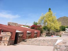 Taliesin West. 1937. Frank Lloyd Wright's winter home and studio from 1937 until his death in 1957.