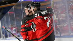 World juniors: Canadians crush Swiss, will meet Czechs in semis. Canada's Brett Howden celebrates his first-period goal against Switzerland in his team's 8-2 quarter-final win Tuesday at the world junior tournament in Buffalo.Jan 2, 2018