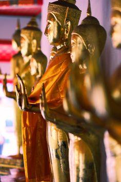Wat Pho: Buddhas