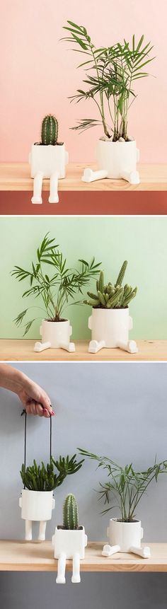 Ceramic Planters by Madriguera Workshop / on the Blog!