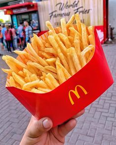 I think about these XXL BFF Fries I got from a McDonald's Fries & Sundae stand at The Mall of Asia in the Philippines often 🤯 First. I Love Food, Good Food, Yummy Food, Kfc, Mcdonald French Fries, Mcdonalds Fries, Mcdonald Menu, Food Goals, Macaron
