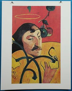 Self Portrait of Paul Gauguin can find Paul gauguin and more on our website.Self Portrait of Paul Gauguin Framed Canvas Prints, Artwork Prints, Canvas Wall Art, Snake Art, Mdf Frame, Frames, Impressionist Art, Post Impressionism, National Gallery Of Art