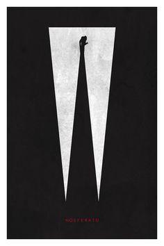 Nosferatu Poster  11X17 by TrevorDunt on Etsy