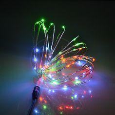 el cambio de color de cobre cadena de luz