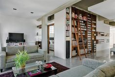 Living Rooms: Loft en Palermo - Roberto Brenlla #decor
