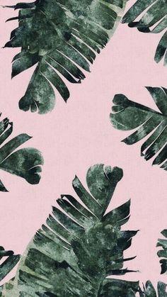 Imagen de wallpaper, background, and green Plant Wallpaper, Tropical Wallpaper, Summer Wallpaper, Iphone Background Wallpaper, Pastel Wallpaper, Aesthetic Iphone Wallpaper, Screen Wallpaper, Aesthetic Wallpapers, Ipod Wallpaper