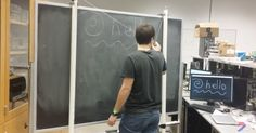 Build your own interactive chalkboard for less than $50: http://www.popsci.com/build-your-own-interactive-whiteboard-under-40