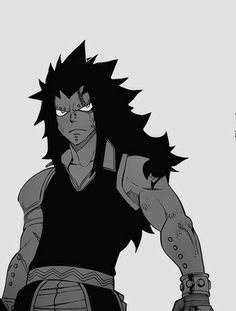 Augh.. I love Gajeel so much...