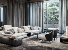 Milan furniture design news: Introducing New Minotti 2015 collection Milan Furniture, Sofa Furniture, Luxury Furniture, Living Room Furniture, Furniture Design, Furniture Plans, Modern Furniture, Minimalist Furniture, Modular Furniture