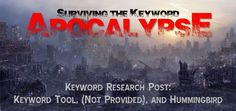 Keyword Research and Google Hummingbird Apocalypse #hummingbird #keywordresearch #9dotstrategies