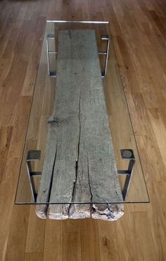 Tavolo in legno naturale originale n.15