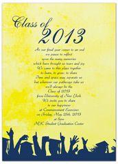 2017 wording university printable graduation invitation in - Graduation Invitation Templates Microsoft Word