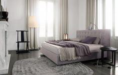 Lit double en tissu ARCA by Poliform Home Bedroom, Bedroom Furniture, Home Furniture, Master Bedroom, Furniture Design, Extra Bedroom, Luxury Modern Homes, Modern Bedroom Design, Contemporary Furniture