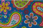 Alice Peterson design -- needlepoint canvas -- Paisley 2356 @Danielle Buns this reminded me.of u