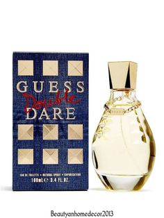 Double Dare Perfume by Guess for Women Eau de Toilette Spray 3.4 oz 100 ml. NIB #Guess