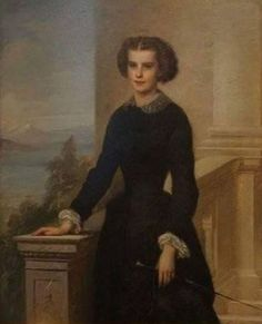 THE YOUNGER BAYERN DUCHESS, WHO FITTED THE BLACK BETTER