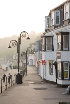 "Beautiful place to visit ~ Lyme Regis is a coastal town in West Dorset, England, situated 25 miles west of Dorchester and 25 miles east of Exeter. The town lies in Lyme Bay, on the English Channel coast at the Dorset–Devon border. It is nicknamed ""The Pearl of Dorset."" Wikipedia"
