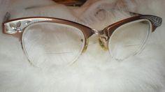 CAT EYE Eyeglasses Art Craft Vintage Womens Ladies by cndaisies, $48.00