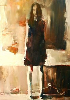Painter by Ruthie Ann. Love all her work, use of brushstrokes is gorgeous.