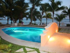 Quinta Maya - Beachside Swimming Pool - Riviera Maya Haciendas, Puerto Aventuras, Mexico