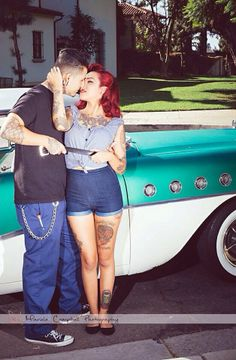 Rockabilly couple - so hot!