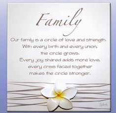 Poem About Family Love