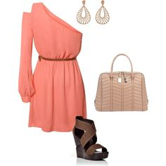 Cute Coral Outfit