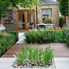 9 Awesome Useful Tips: Modern Garden Ideas Patio backyard garden path tuin.Backyard Garden On A Budget Patio Makeover. Backyard Garden Landscape, Small Backyard Gardens, Garden Landscape Design, Backyard Landscaping, Landscaping Ideas, Backyard Ideas, Small Backyards, Small Gardens, Backyard Designs