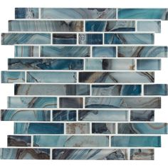 Add a dash of contemporary styling to your decor by selecting this MSI Night Sky Interlocking Glass Mesh-Mounted Mosaic Tile.