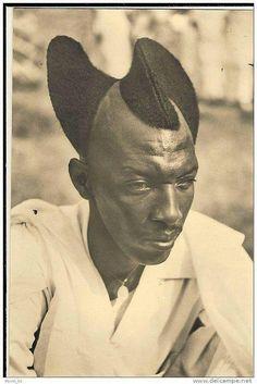Men grooming Africa style