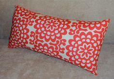 Amy Butler Lotus Flower Decorative Lumbar Pillow by PlumandLitton