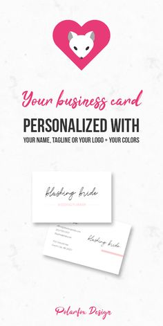 In my Etsy shop you can get business cards in European sizes: 85 x 55 mm x in). I also do custom orders! Printable Business Cards, Elegant Business Cards, Social Media Template, Clean Design, Brand You, Print Design, Branding Design, My Etsy Shop, Place Card Holders