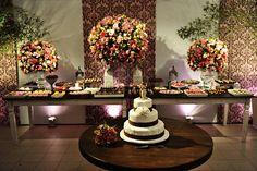 mesa do bolo de casamento - Pesquisa Google