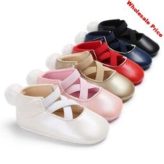 Lovely Baby Shoes Cat Mouse Embroidery Magic Tape Anti-Slip Cotton Infant Baby Girl Shoes for Gift