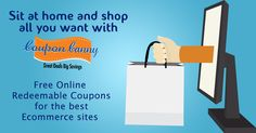 With attractive coupons released everyday! Why keep the urge of shopping at bay! Visit: http://www.couponcanny.in/ today