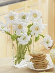 Daisy Bouquet | Yarn | Free Knitting Patterns | Crochet Patterns | Yarnspirations...free pattern!
