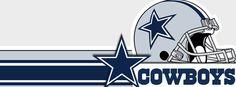 NFL Dallas Cowboys Helmet and Star Facebook Cover CoverLayout.com