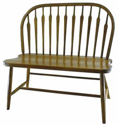 Amish Arrow Bow Windsor Bench