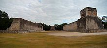 The Great Ball court, one of 13 ball courts at Chichen-Itza