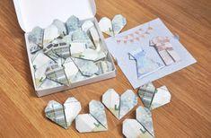 Te enseñamos como regalar dinero de forma original en una boda. Hacer origamis con billetes nos propone muchas soluciones!